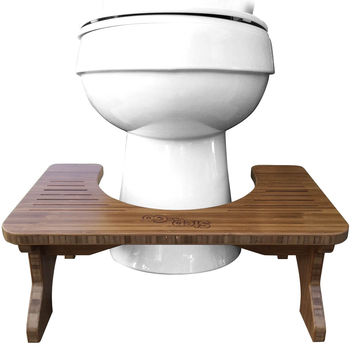 image quarter bamboo bathroom stool step and go bamboo toilet stool