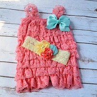 Shop Your Final Touch for adorable cake smash outfits for baby girls 1st and 2nd birthday. Free Shipping on orders over $25