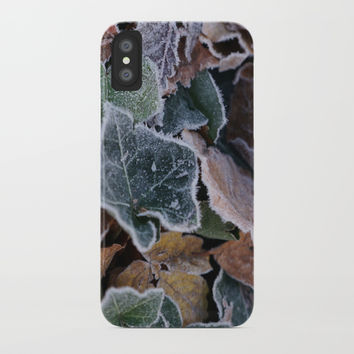 Frost iPhone Case by Knm Designs