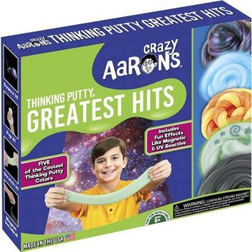 Crazy Aaron's Thinking Putty Greatest Hits Set