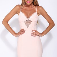 Verity Dress Pale Pink