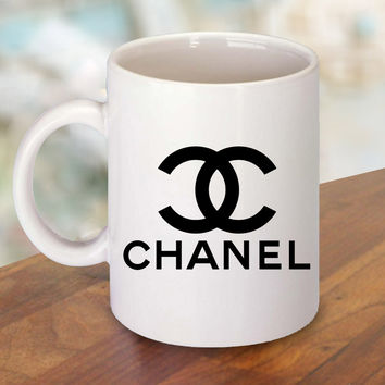 choco chanel Mug and Cup / Custom Mug / Custom Cup
