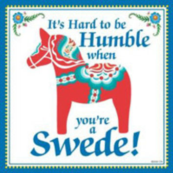 Kitchen Wall Plaques: Humble Swede