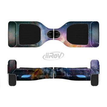 The Rust and Bright Neon Colored Stary Sky Full Body Skin Set for the Smart Drifting SuperCharged Transportation iiRov