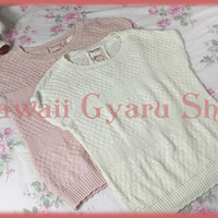 Liz Lisa Bow Back Short Sleeved Sweater (NwoT) from Kawaii Gyaru Shop
