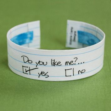 Do You Like Me Check Yes or No Sweetheart by VictoriaCampDesigns