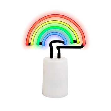 Rainbow Neon Light Small