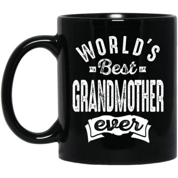 World's Best Grandmother Ever Mug