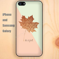 Shining maple leaf dream iphone 6 6 plus iPhone 5 5S 5C case Samsung S3, S4,S5 case, Ipod touch Silicone Rubber Case Phone cover Waterproof
