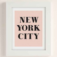 alphonnsine New York City Art Print