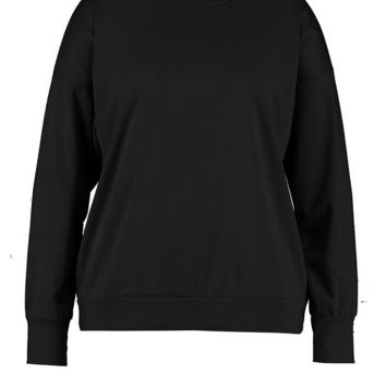 Plus Crew Neck Sweat | Boohoo