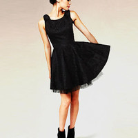 Fine and Dandy Black Lace Dress - $62.00 : Fashion Little Black Dress at LuLus.com
