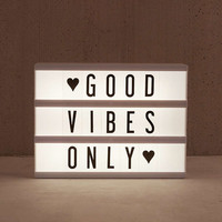 Mini Cinema Light Box - Urban Outfitters