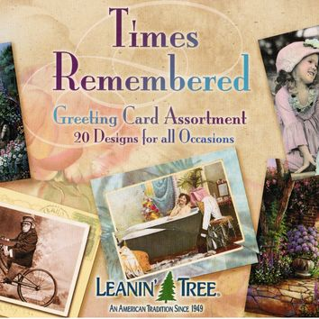 Leanin Tree Greeting Card Assortment - Times Remembered