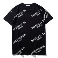 Balenciaga Fashion Print Shirt Top Blouse