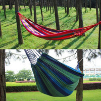 Portable high quality outdoor garden hammock swing hanging travel bed