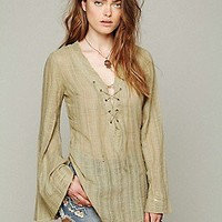 Free People  Mila Shirtail Tunic at Free People Clothing Boutique