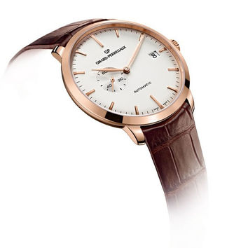 Girard-Perregaux 1966 Small Seconds and Date Pink Gold Men's Watch 49543-52-131-BKBA