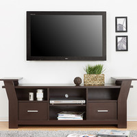 Furniture of America Walnut Kartha TV Stand | zulily