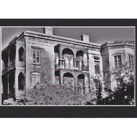 New Orleans, Haunted Mansion, Gothic Dark Art, Architecture Print, Black and White Fine Art