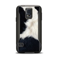 The Real Cowhide Texture Samsung Galaxy S5 Otterbox Commuter Case Skin Set