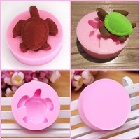 Turtle cake mold for cake and chocolate silicone