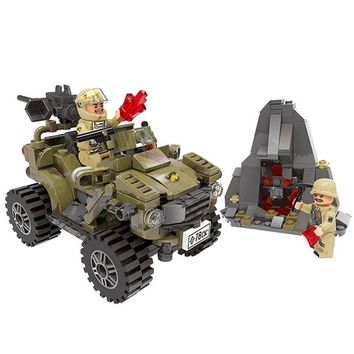 Military Army Desert Looking For Material Building Blocks Sets Bricks Classic Model Kids For Children Toys Compatible Legoings