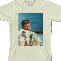 Jfk-Unisex Natural T-Shirt