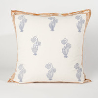 Blue Bell Flower - Euro Pillow
