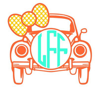 Car Monogram Decal Add a Personalization to Christmas Gift, Great Personalized Gift, Gift wrapping available, Personalize Almost Anything!