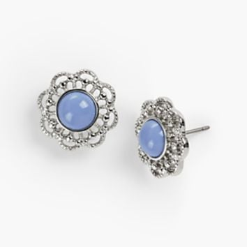 Filigree Stud Earrings | Talbots