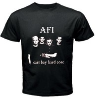afi east bay hard core design extra large t-shirt size S - 5XL