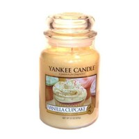 Yankee Candle Vanilla Cupcake Large Jar 22oz Candle