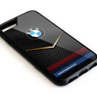 BMW Gold Logo iPhone 6 6s 7 7+ 8 8+ X Hard Plastic Case