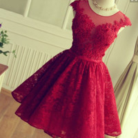 A new summer dress bride service short wedding banquet evening dress homecoming dress