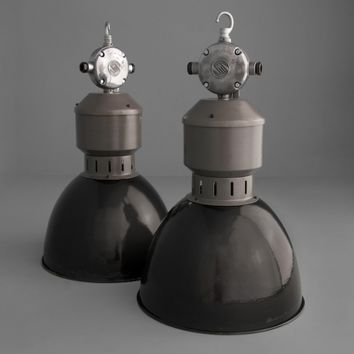 Eastern Bloc vintage industrial lighting | Ceiling Lights | Skinflint