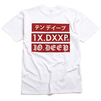Triple Stack 2 T-Shirt White