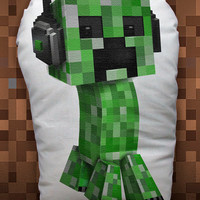 Minecraft Creeper pillow doll