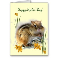 Chipmunk's Mothers Day Cards