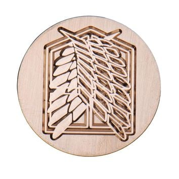 Cool Attack on Titan 4 Types Anime Metal Sealing Wax Clear Stamps Dia 30mm Stamps Wax Seals  Delicate Cuprum Stamps For Kids Adults  AT_90_11