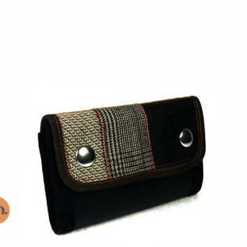Vegan Wallet, Slim Wallet, Thin Wallet, Small Wallet UNUSUAL with Coin Pocket, Card Holder