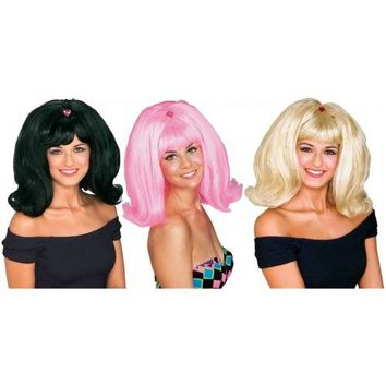 Flip Wig Costume Accessory Adult Halloween