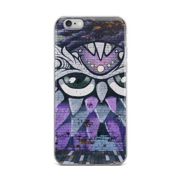 Purple Owl iPhone Case