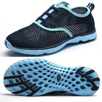 Women Breathable Running Shoes Beach Water Shoes Men Mesh Walking Shoes Sport Sneaker