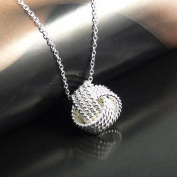 CREYET7 VALEN BELA Silver Plated Women Pendant collares Rose Ball Slide Fashion Gold Chain necklaces accessories jewerly XL1101