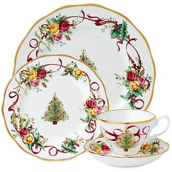 Royal Albert Old Country Roses Christmas Tree Collection