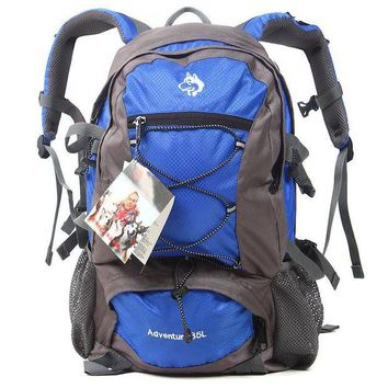 DCCK7N3 Sled dog backpack small sports backpack classic men and women with waterproof bags 35 l Outdoor Climbing Bags sport backpack