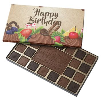 Happy Birthday 45 Piece Box Of Chocolates