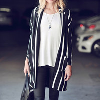 Walk the Line Long Cardigan