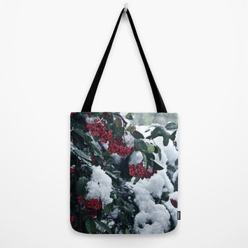 Winter and snow Tote Bag by VanessaGF | Society6